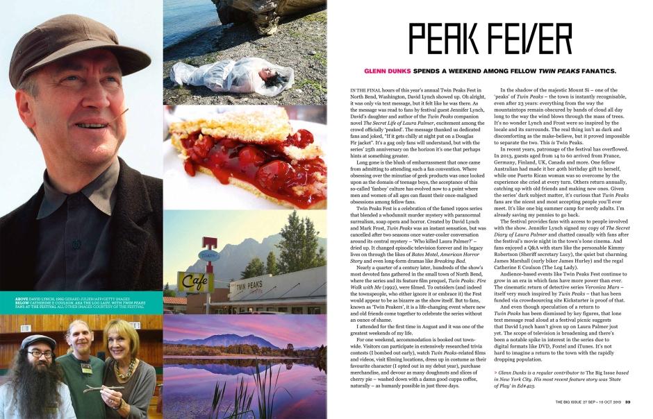 """""""Peak Fever"""": Issue 442 (27 Sep - 10 Oct)"""